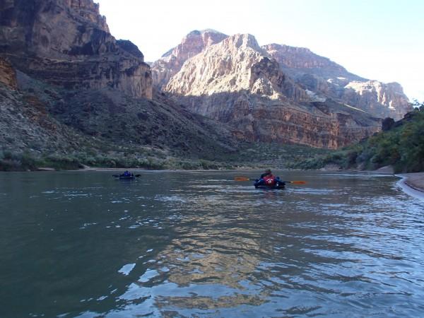 Little Boat, Big Canyon