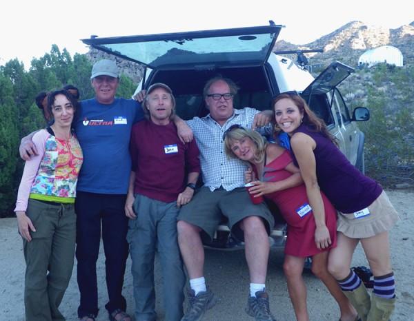 Maidy, rlf, Jersey John, Grant Karen and Jenny.