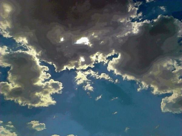 Clouds over Tucson, AZ