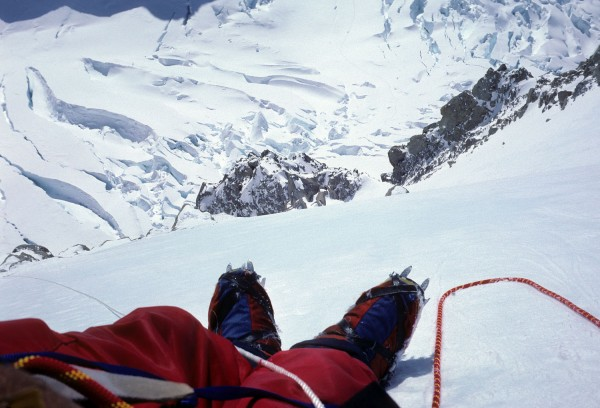 Remember Chouinard Supergators? Galibier Makalu double boots?