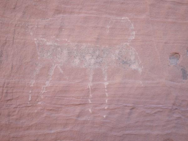 a lovely petroglyph
