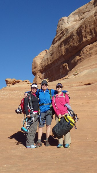 Lisa, Susan and Dawn  always seeking adventure