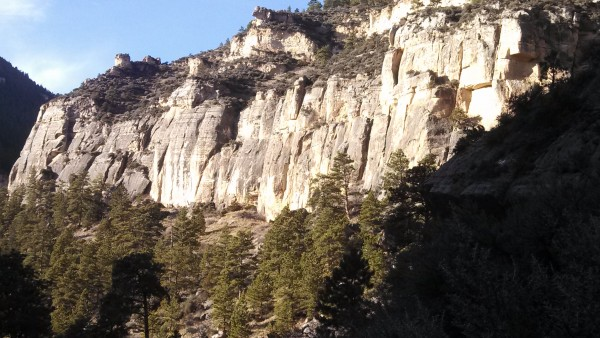 The Whodunit Wall, Big Horn Mountains, WY