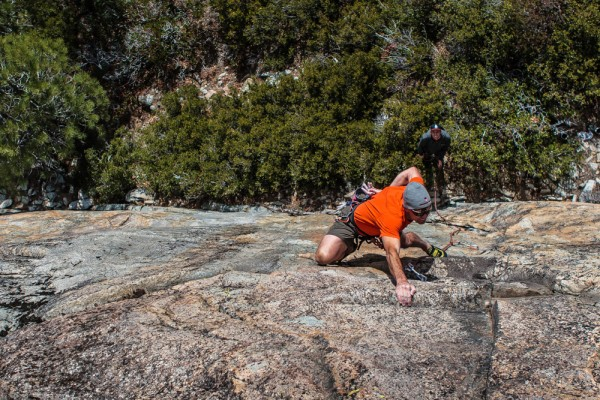 Mike Carville finishing up Flying the Coop .10b, Boy Scout Wall, Bowma...