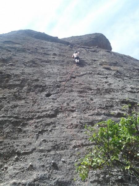 Ben on monolith