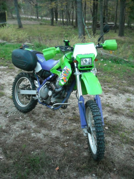 oldie but goody 1996 klx 650