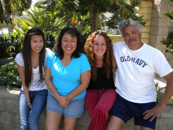 Cousin Seve, Aunt Arlene, me and my Uncle Mike...  <br/>  <br/> love.
