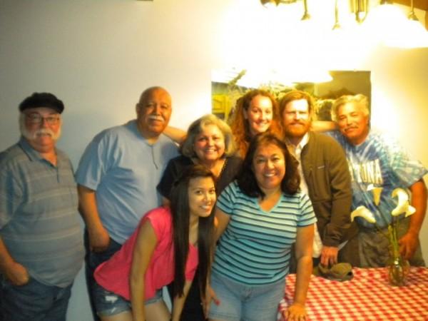 Uncle Leroy, Uncle Robert, Cousin Seve, Aunt Ruthie, Aunt Arlene, Me, ...