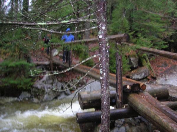 Dix Mt. trail,Adirondacks