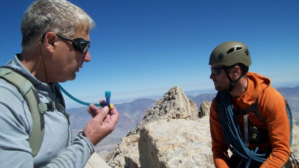 Jed and Mike on Russell Summit