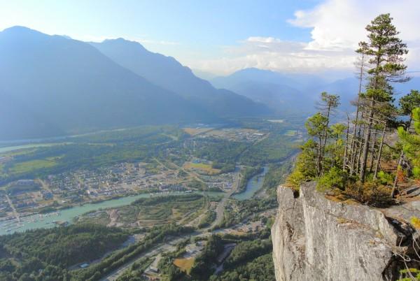 Squamish viewed from Third Peak. p: Doug Tomczik