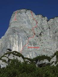 Prantl Waidringer Steinplatte, Tirol Austria