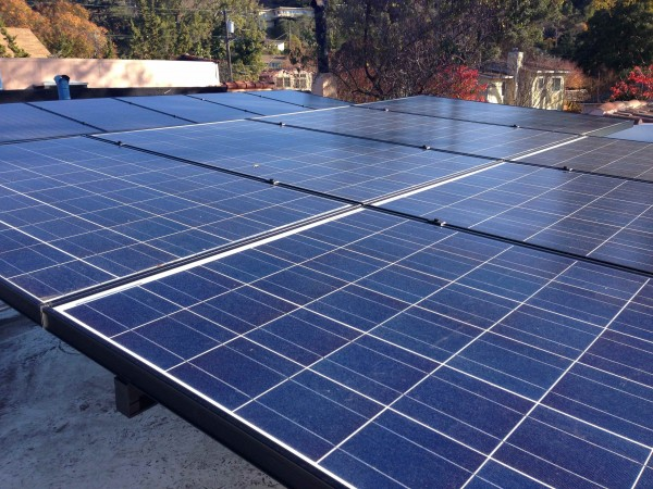 More solar panels on the home / office