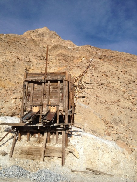 Saline valley salt tram
