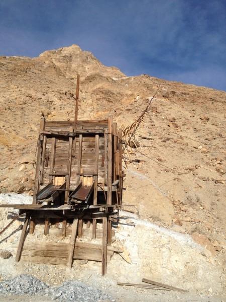 Saline valley salt tram