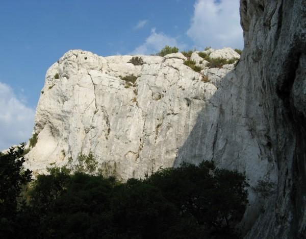 Marseilleveyre, Falaise Pastre, a part of Secteur Haute Tension, one o...