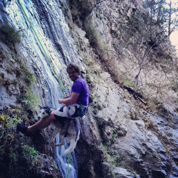 Canyoneering with Odessa