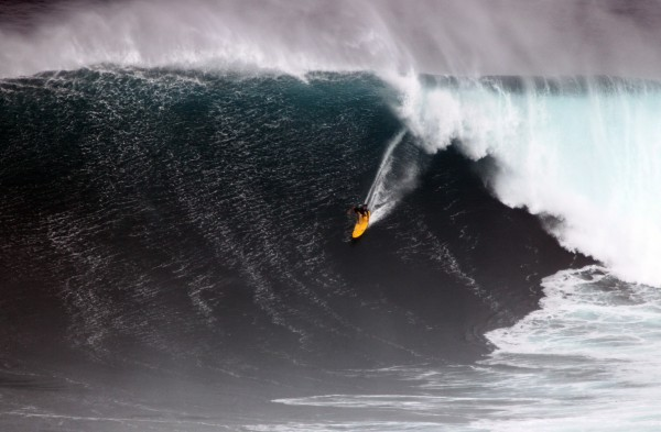 Mark Healey at &quot;Jaws&quot; 11-12-13 <br/> Photo: Olaf Mitchell