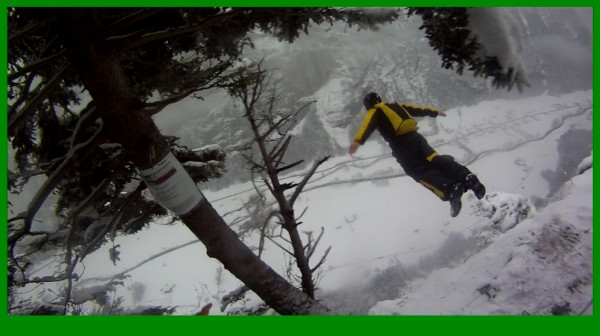 a friends pic of the swiss valley recently....high nose exit