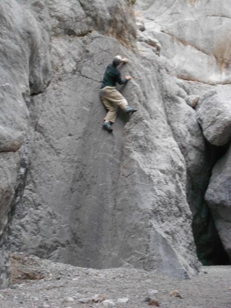 DV bouldering