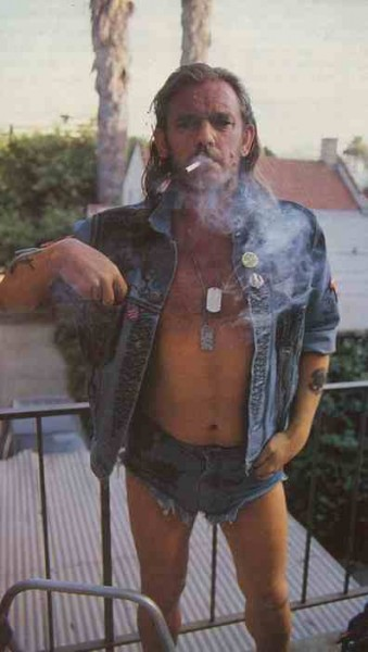 "Lemmy says, ""WTF are you looking at? Are YOU man enough to wear jorts?"