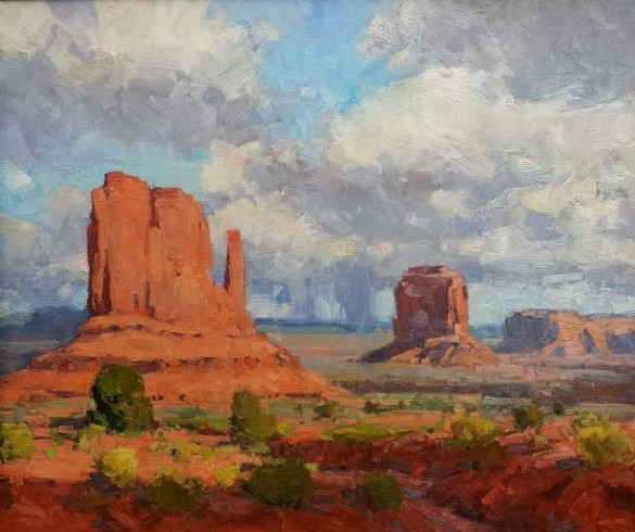 Monument Valley 20x24 oil