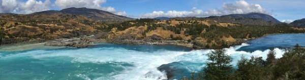 Confluencia of the Rio Baker and the Rio Neff.