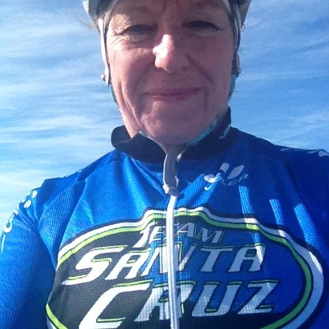 Rollin' with my homies, Team Santa Cruz.