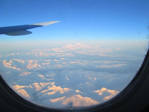Outbound to Cambodia, Mt. McKinley, 1/12/14