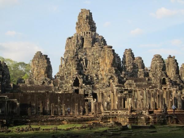 The Bayon, Angkor Thom, 1/14/14