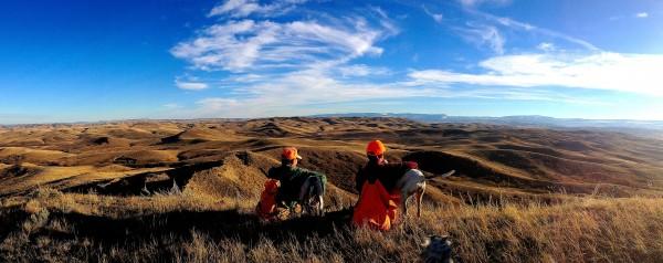 Hunting tribal land, Montana