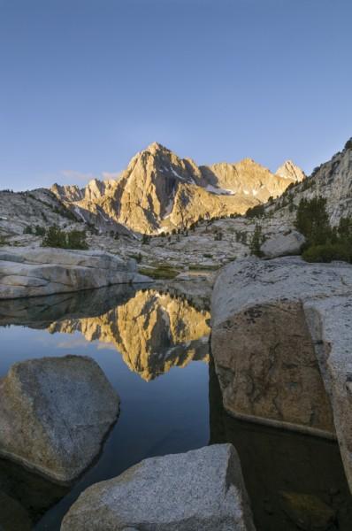 Picture Peak (Sabrina Basin, Sierra)