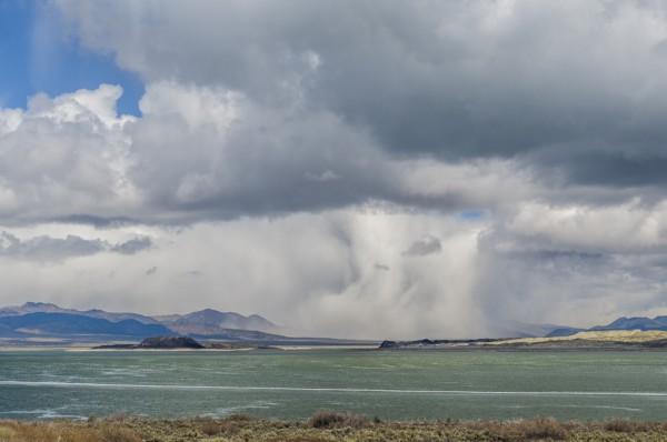 Cloudburst Mono Lake