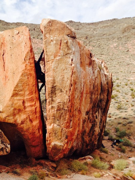 MC bouldering after work. <br/> The Outback..