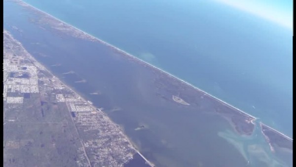 gliding over sebastian FL