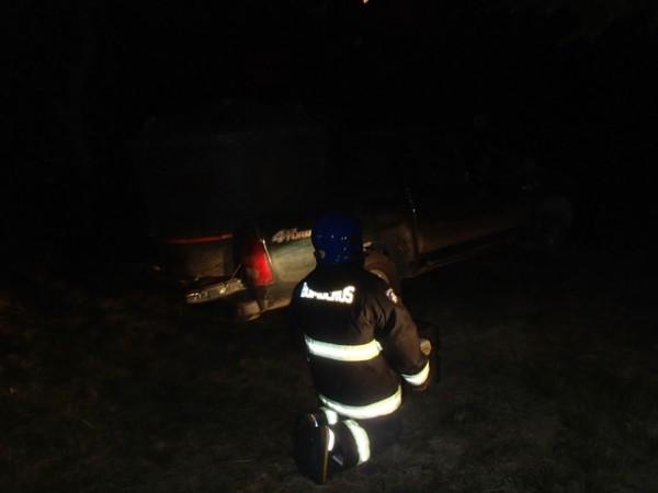 Bomberos on scene, we fight the fire thru the night.