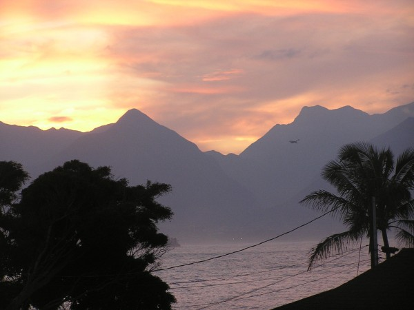 Sunset from my porch. <br/> Photo: Olaf Mitchell