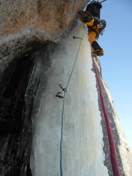 Pitch 2 crux