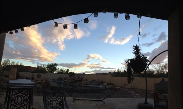 At Casa de Lago, Tucson, AZ