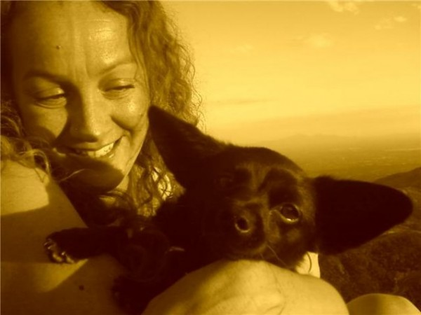 Rose Bud and I up at Windy  <br/>