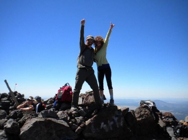 Summit of Humphreys Peak  <br/> Elevation of 12,637 feet