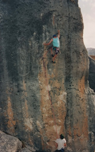 """Hunters Bar"" Grade 24 or 5.11d"