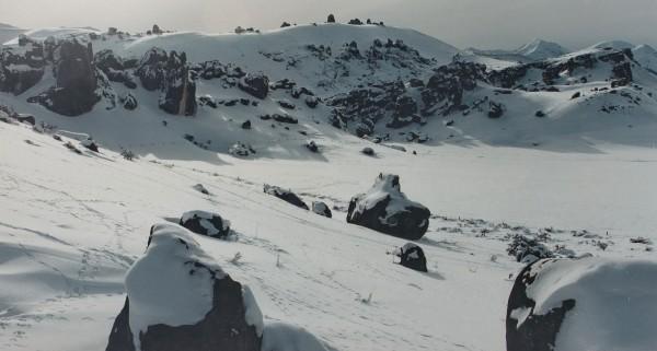 Castle Hill in mid winter