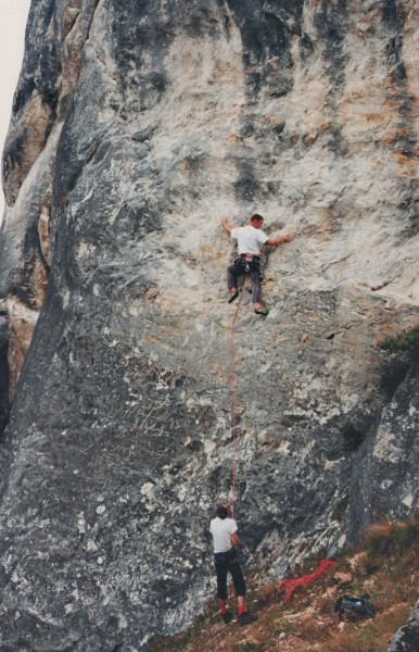 """A Taste of Things to Come"" (21) or 5.11a. Early 90's."