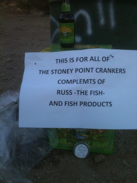 Thursday Beer nite, sponsored by FISH
