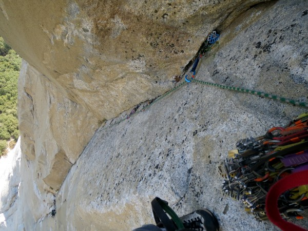 Looking down on Pitch 5, New Dawn