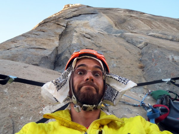 Selfie below pitch 2, Tribal Rite