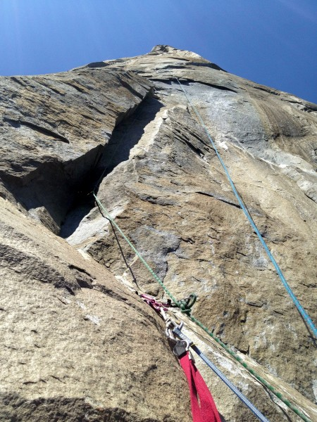 Looking up at Pitch 2, Tribal Rite