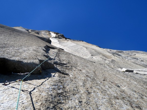 Huge penji at the end of pitch 4, Tribal Rite