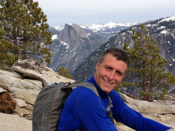Sean Leary on the summit of El Capitan
